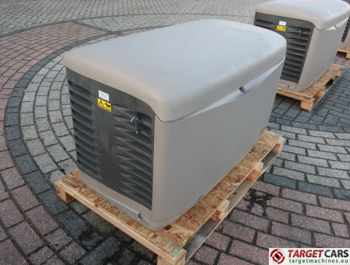 SDMO RESA14TEC RESIDENTIAL GAS GENERATOR 12KVA 400V/230V KOHLER ENGINE NEW/UNUSED 2015 SGM32CWFT