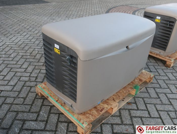 SDMO RESA14TEC RESIDENTIAL GAS GENERATOR 12KVA 400V/230V KOHLER ENGINE NEW/UNUSED 2015 SGM32CWG5