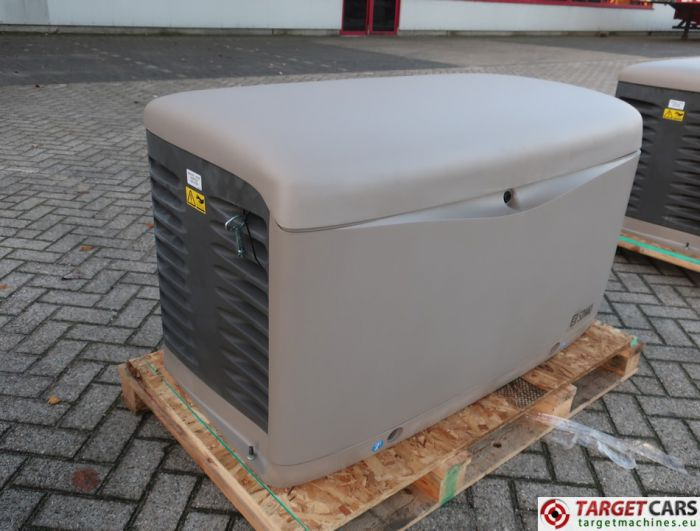 SDMO RESA14TEC RESIDENTIAL GAS GENERATOR 12KVA 400V/230V KOHLER ENGINE NEW/UNUSED 2015 SGM32CWG6