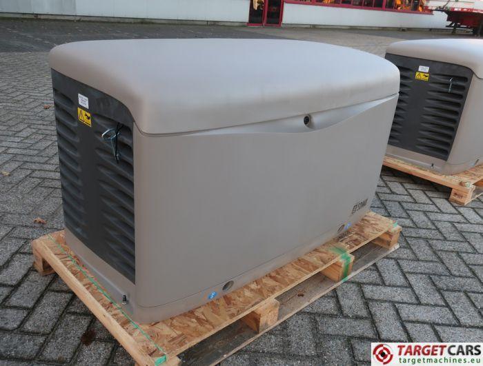 SDMO RESA14TEC RESIDENTIAL GAS GENERATOR 12KVA 400V/230V KOHLER ENGINE NEW/UNUSED 2015 SGM32CWFX