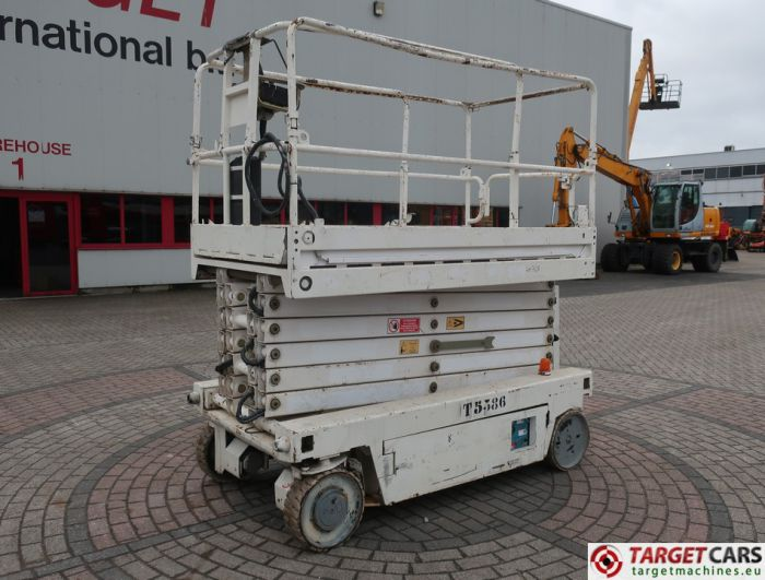 ITECO IT12122 ELECTRIC SCISSOR WORK LIFT 1390CM 2007 IT12/9354