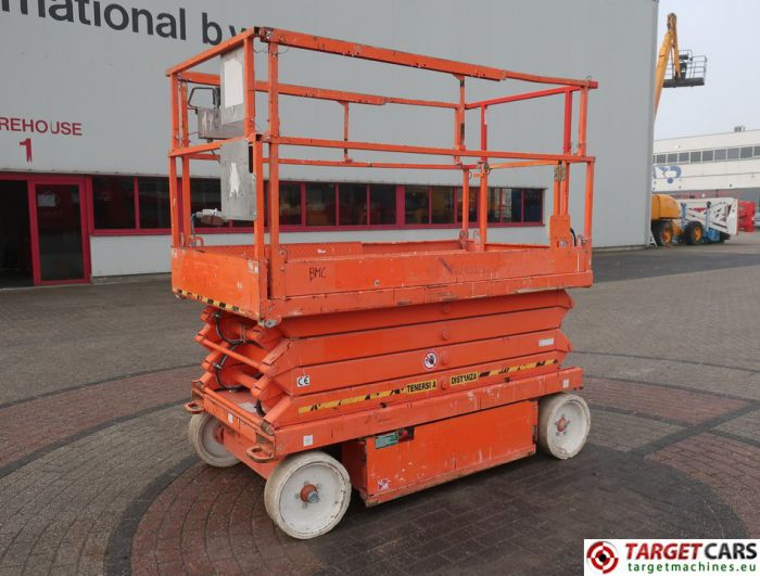 SKYJACK SJ4626 ELECTRIC SCISSOR SJIII-4626 WORK LIFT 2012 70010199 380HRS 990CM