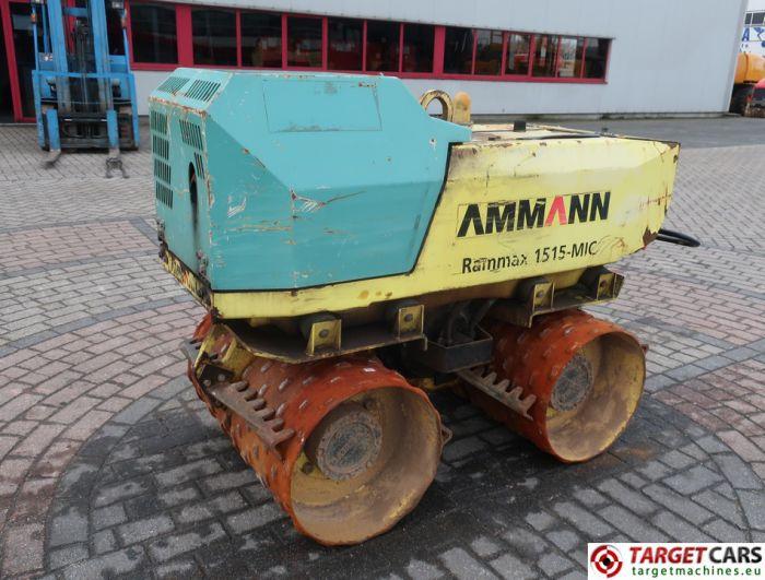 AMMANN RAMMAX 1515 TRENCH ROLLER 85CM COMPACTOR 2011 1480KG 622HRS