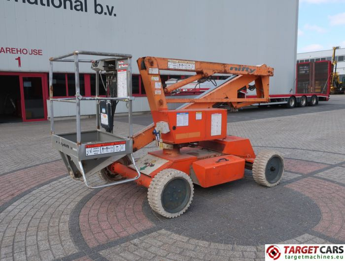 NIFTYLIFT HR12DE ARTICULATED BI-FUEL BOOM WORKLIFT 2006 1220CM 12-13945