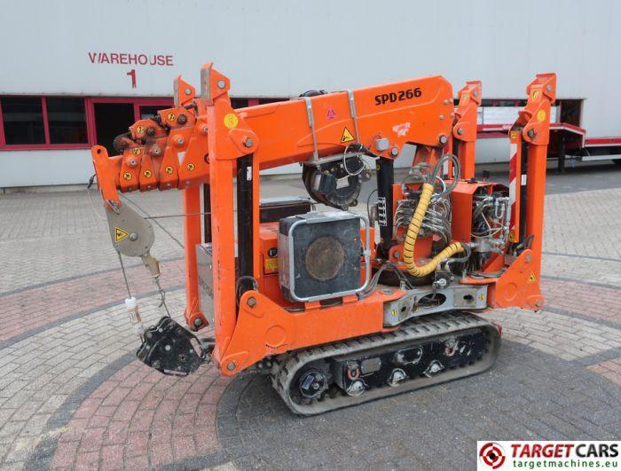 ORMET JEKKO SPD266C+ MINI TRACKED ELECTRIC CRAWLER SPIDER NARROW CRANE 1200KG 700CM 2008(2013)
