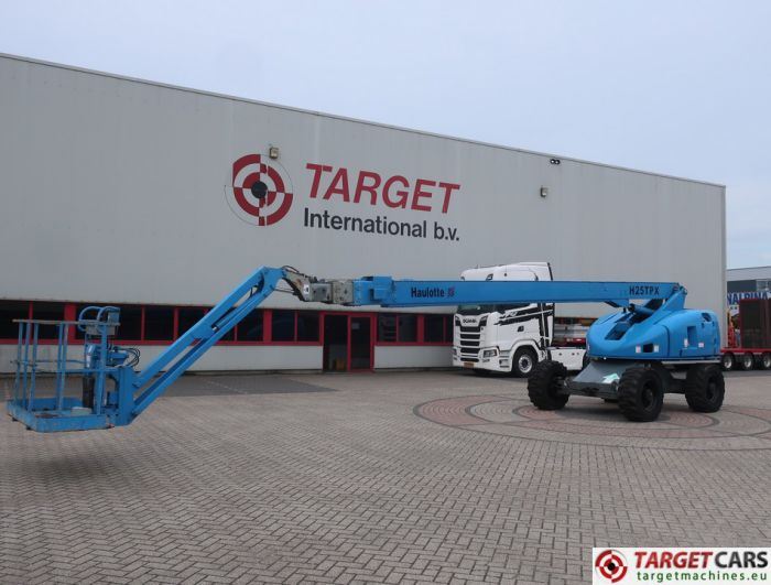 HAULOTTE H25TPX 4x4 TELESCOPIC DIESEL BOOM WORK LIFT 2530CM 2006 1217HRS