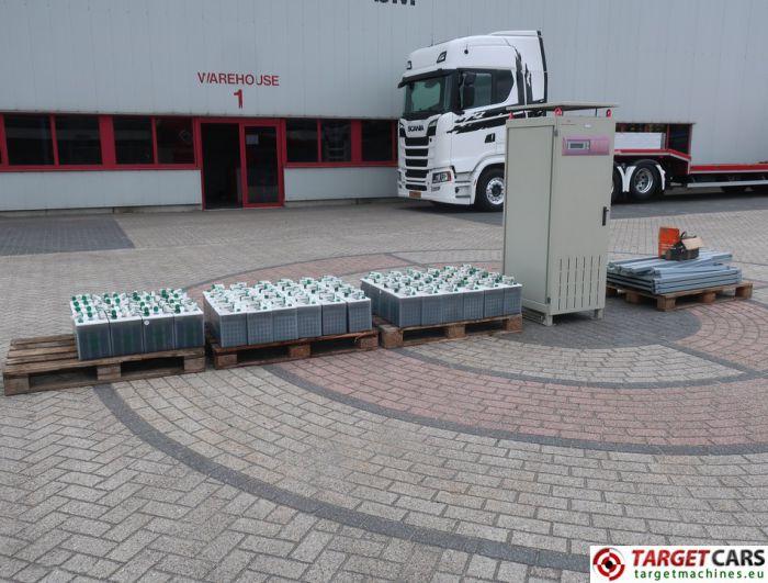 AEG SAFT POWER SYSTEMS D400E230/43 UPS W/64PCS HOPPECKE OGI BLOC 60 6V 54AH BATTERIES