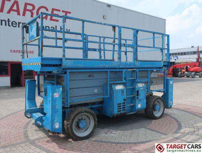 GENIE GS-4390 SCISSOR 4x4 GS4390 DIESEL WORK LIFT 1511CM GS9006-43411 07-06 3114H JACKLEGS