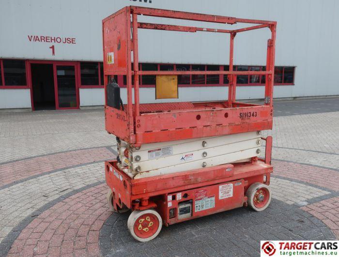 SNORKEL S1930 ELECTRIC SCISSOR WORK LIFT 780CM 2007 339HRS