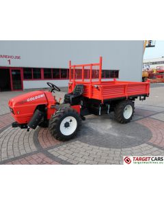 GOLDONI TRANSCAR 28RS UTILITY TRACTOR TIPPER 3-WAY DUMPER 4WD 25HP 2018 LS624197 NEW / UNUSED