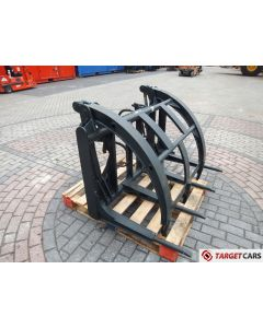 GRAPPLE FORK FOR WHEEL LOADER 140CM WIDTH