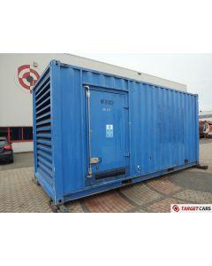 SDMO XS1000K DIESEL 1000KVA GENERATOR SET 400V/230V 3-PHASE 2005