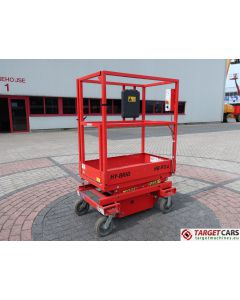 HY-BRID HB-P3.6 HYBRID PUSH AROUND SCISSOR COMPACT WORK LIFT 2014 360CM E04-10271
