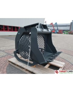 HAMMER VTN SR10 ROTATING SCREENING 110CM BUCKET 2018 50016495 UNUSED TO FIT 13~20T