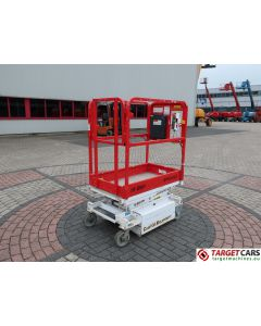 HY-BRID HB-P830CE HYBRID PUSH AROUND SCISSOR COMPACT WORK LIFT 2011 444CM E05-10307