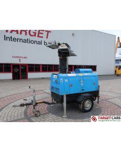 SUPERLIGHT VT1 MOBILE LIGHTNING TOWER LIGHT 900CM W/9KVA GENERATOR 230V 2007 5519H