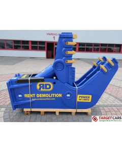 RENT DEMOLITION D20 HYDRAULIC PULVERIZER CRUSHER D-20 2018 TO FIT 21~29T EXCAVATOR R8617611