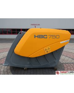 HARTL HBC 750 CRUSHER HBC750 BUCKET 750MM 2014 CC00750140042 UNUSED TO FIT ≥ 18T