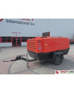 ATLAS COPCO XAS136DD AIR COMPRESSOR 8100L/MIN 290CFM 7BAR 2005 0593H 50495672 DEFECT / INCOMPLETE