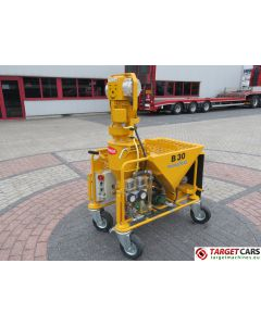 BUNKER B30 220V READY-MIX MATERIALS PLASTERING MACHINE 220V 2008 NEW / UNUSED.