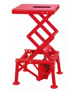 ML300H MOTORCYCLE MINI LIFT 135KG RED