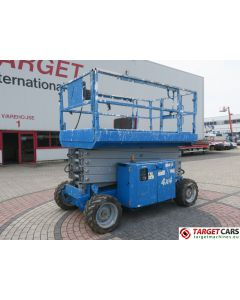 GENIE GS-4069RT SCISSOR 4x4 DIESEL WORK LIFT 1430CM GS6911-216 2011 0691HRS