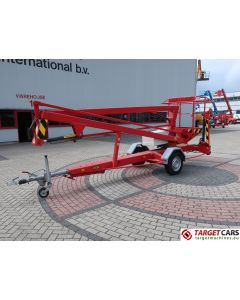SKY HIGH 1200 BESTO BB1200 TOWABLE ARTICULATED BOOM WORK LIFT 1200CM 1999 ELECTRIC 230V 45084