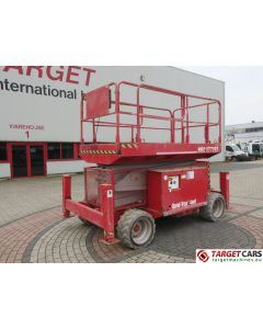 MEC 3772ES HD ELECTRIC 4x4 SCISSOR WORK LIFT 1300CM JACKLEGS 08-2008 174HRS
