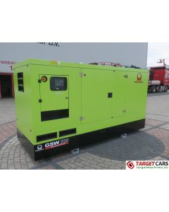 PRAMAC GSW220 DIESEL GENERATOR SET 220KVA 400V/230V VOLVO ENGINE NEW/UNUSED 1HR 2015 PEE2570294