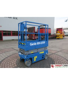 GENIE GS1530 ELECTRIC GS-1530 SCISSOR WORKLIFT 657CM 2015 4HRS S18555