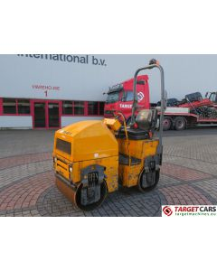 TEREX TV800K DOUBLE DRUM TV800 VIBRATORY ROLLER 2010 1004H