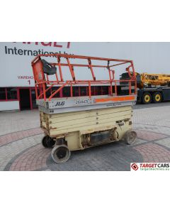 JLG 2646ES ELECTRIC SCISSOR WORK LIFT 2005 1200003289 493HRS 992CM DEFECT/INCOMPLETE