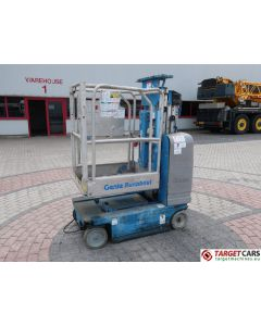 GENIE GR-15 RUNABOUT GR15 VERTICAL MAST WORKLIFT 2007 652CM GR07-10308 DEFECT INCOMPLETE