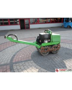 AMMANN AR65 WALK BEHIND DOUBLE DRUM VIBRATORY ROLLER COMPACTOR DIESEL 2011 695KG 176115 INCOMPLETE DEFECT