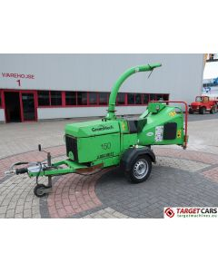 GREENMECH ARB150MT FAST TOW DIESEL CHIPPER 2012 S12602