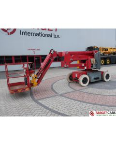 HAULOTTE HA12IP ELECTRIC ARTICULATED BOOM WORKLIFT W/JIB 1200CM 2006 AE103506 4671H