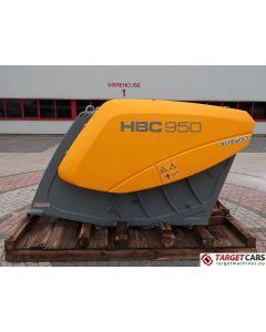 HARTL HBC 950 CRUSHER HBC950 BUCKET 950MM 2014 CC00950140048 UNUSED TO FIT ≥ 24T