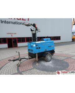 SUPERLIGHT VT1 MOBILE LIGHTNING TOWER LIGHT 900CM W/9KVA GENERATOR 230V 2010 5875H