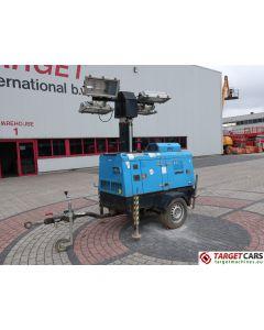 SUPERLIGHT VT1 MOBILE LIGHTNING TOWER LIGHT 900CM W/9KVA GENERATOR 230V 2009 10005H