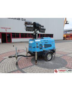 SUPERLIGHT VT1 MOBILE LIGHTNING TOWER LIGHT 900CM W/9KVA GENERATOR 230V 2010 8613H