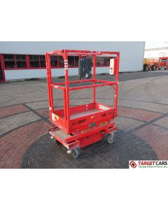 HY-BRID HB-P3.6 HYBRID PUSH AROUND SCISSOR COMPACT WORK LIFT 2014 360CM E04-10263