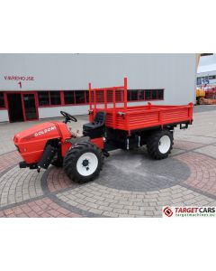 GOLDONI TRANSCAR 28RS UTILITY TRACTOR TIPPER 3-WAY DUMPER 4WD 25HP 2018 LS624201 NEW / UNUSED