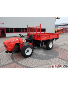 GOLDONI TRANSCAR 28RS UTILITY TRACTOR TIPPER 3-WAY DUMPER 4WD 25HP 2018 LS624194 NEW / UNUSED
