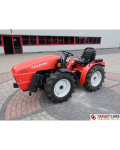 GOLDONI EURO 30RS FARM TRACTOR 4WD 25HP 2018 YS623438 2HRS NEW / UNUSED