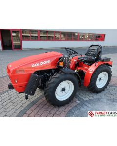 GOLDONI EURO 30RS FARM TRACTOR 4WD 25HP 2018 YS623437 2HRS NEW / UNUSED