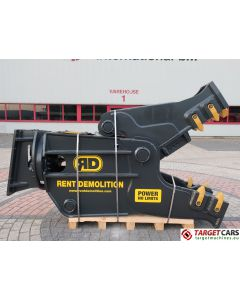 RENT DEMOLITION RD25 HYDRAULIC ROTATING PULVERIZER CRUSHER RD-25 2018 TO FIT 25~32T EXCAVATOR R8707611