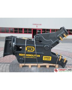 RENT DEMOLITION RD20 HYDRAULIC ROTATING PULVERIZER CRUSHER SHEAR RD-20 2018 TO FIT 21~28T EXCAVATOR R8706611