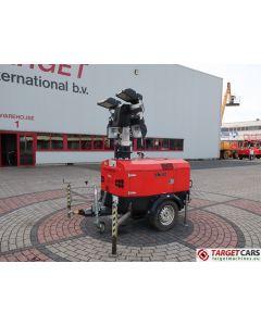 TOWER LIGHT VB9 ECO VB-9 LIGHTNING TOWER 4x400W W/GENERATOR 4KVA 2012 3389HRS