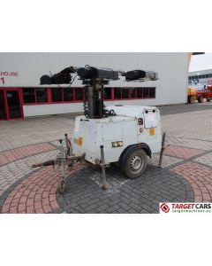 SMC TL90 MOBILE LIGHTNING TOWER TL-90 TOWER LIGHT 900CM W/GENERATOR 230V 2007 6348H