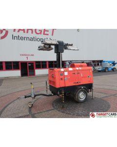SUPERLIGHT VT1 MK1 MOBILE LIGHTNING TOWER LIGHT 900CM W/GENERATOR 10KVA 2005 8524H